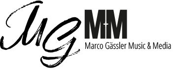 Marco Gässler Music & Media Logo